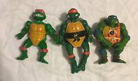 Vintage TMNT Teenage Mutant Ninja Turtles Action Figure 1992 Mirage Studios Toy