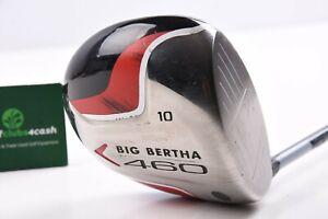 Callaway Big Bertha 460 Driver / 10 Degree / Regular Flex Aldila NVS / CADBIG102