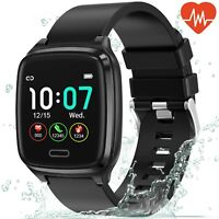 Smartwatch B1 Bluetooth Uhr Curved Display Android iOS Samsung iPhone Huawei IP