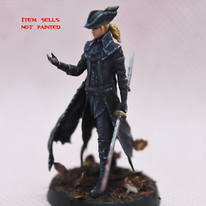 35 mm Lady Blood Maria Bloodborne Miniature for DnD|Wargaming|Tabletop Gaming