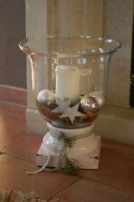 Deko-Kerzenständer & -Teelichthalter im Landhaus-Stil aus Keramik