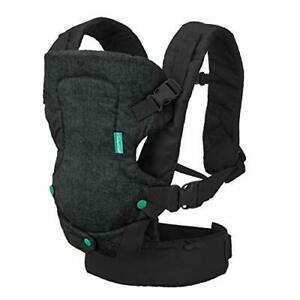 Infantino Flip 4-in-1 Carrier - Ergonomic for Newborns and Older Babies 8-32 lbs