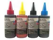 4 Pack Refill Ink Kit 100ml for Epson T6641 L100 L200 L300 L550 T664120 T664