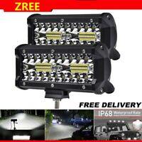 2x480W LED Fernscheinwerfer Arbeitsscheinwerfer 12V24V PKW LKW SUV Auto Anhänger