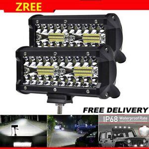 2x 800W LED Arbeitsscheinwerfer Fernscheinwerfer Offorad PKW LKW SUV Anhänger DE