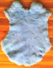 5x High Quality Dyed Rabbit Skin Pelt Real Fur - 19 Colours Available