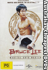 Bruce Lee - Martial Arts Master DVD NEW, FREE POSTAGE WITHIN AUSTRALIA REGION 4