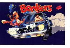 Bonkers D Bobcat-Lucky Piquel TV Show Disney Animation Character Adv Postcard