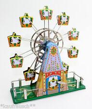 Spieluhr Riesenrad Blechspielzeug Karussell mit Musik It´s a small world