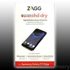 ZAGG Invisible Shield HD Dry Screen Protector for Samsung Galaxy S7 Edge SM-G935