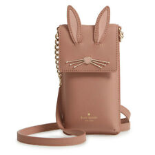 NWT Kate Spade 8ARU2653 Rabbit North South Phone Crossbody iPhone 7 8 X Case Bag