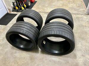 Michelin PILOT SUPER SPORT ZP tires 285/30/19 & 335/25/20 Off C7 Corvette Z06