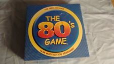 The 80's Game New SEALED Board Trivia How Much Do You Remember?