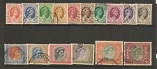 Rhodesia&Nyasaland 1954 QEII Set Used/Fine Used