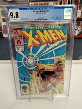 UNCANNY X-MEN #221 (Marvel Comics, 1987) CGC Graded 9.8! ~ White Pages