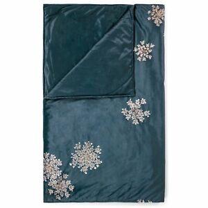 ESSENZA Tagesdecke Quilt Lauren Blau Blumen Rosen Pflanzen Überwurf Decke