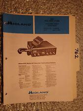 New listing Midland 77-005 5001 service manual original repair book cb radio transceiver
