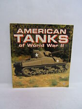 American Tanks of World War II by Thomas Berndt 1994 Full Color Free Shipping