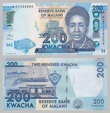 Malawi 200 Kwacha 2015 unz.