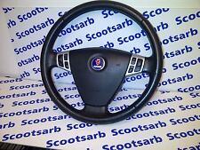 SAAB 9-3 93 Steering Wheel with SRS SPORT 2003 - 2010 12796743 4D 5D CV