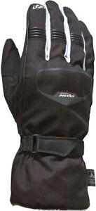 IXON Pro Rush Winterhandschuhe hochwertige Motorradhandschuhe Schwarz Weiß