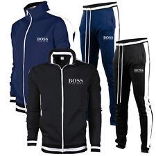 HUGO BOSS Jogging Anzug 2 Stück Trainingsanzug Sweatshirt Jacke Hose Sportanzug