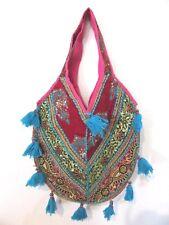NEW Large Indian Banjara Kuchi Handmade Tribal Bag Handbag Hippie Embroidered