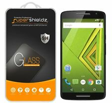 2x Supershieldz® Tempered Glass Screen Protector Saver For Motorola Moto X Play