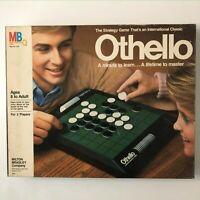 VINTAGE 1986 Othello Board Game Milton Bradley Complete