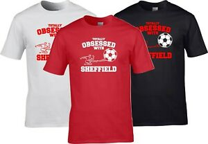 Sheffield United Football - Totally Obsessed With Funny Gift T Shirt S - 5XL