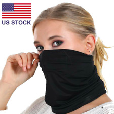 Reusable Summer Face Mask Neck Gaiter Biker Scarf Tube Bandana Beanie Cover Cap
