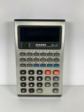Vintage Casio Fx-15 Scientific Calculator Small 0's Working Battery Operated