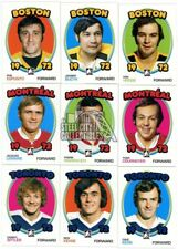 2009-10 In The Game 1972 The Year in Hockey Blank Back 200-Card Parallel Set