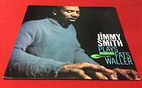 JIMMY SMITH PLAYS FATS WALLER Blue Note Jazz LP NEW YORK USA Van Gelder EAR Mono