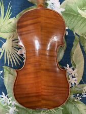 Old ANTIQUE 4/4  German VIOLIN August Heberlein Vintage