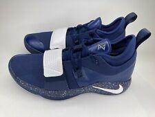 Nike PG 2.5 Team Bank Paul George Midnight Navy White BQ8454 402 Men's Sz 12.5
