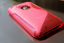 S line Gel case iPhone 3 3G 3GS    TPU  Back Cover Case skin Pinkish Red