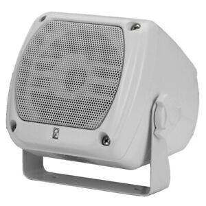 Poly-Planar Subcompact Box Speaker - (Pair) White Ma840W