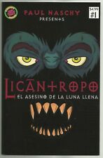 LICANTROPO #1 (Based on the Classic Paul Naschy Film, Horror) Blood Scream, 2018