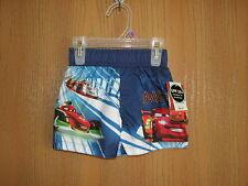 NWT Toddler Boy DISNEY PIXAR CARS Swim Trunk Shorts UPF 50+ Size 12 Months
