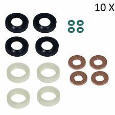 (10X) 1.6 Diesel Set guarnizioni + rondelle + O-ring per iniettore di carburante