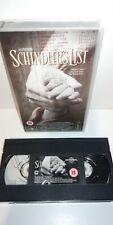 Schindlers List VHS Spielberg