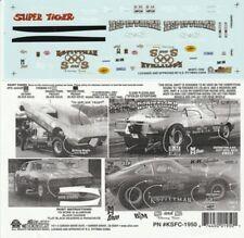 KS Pittman Firebird & Opel NHRA Drag Decals #1950