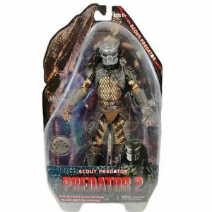 "NECA Predator Series 6 Scout Predator 7"" PVC Action Figure Collection Model Toy"