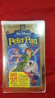 walt disney's masterpiece Peter Pan VHS, 1998, 45th Anniversary Limited Edition