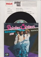 "Pointer Sisters - Beverly Hills Cop: Neutron Dance (7"" Single Germany 1985)"