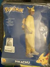 Pokemon Pikachu Deluxe size L 10/12 Childs Costume Licensed Rubie's Never Worn