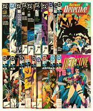 Batman Lot of 35 Comics from #598-683 + Annuals (1993 DC) Key Issues! Unread! NM