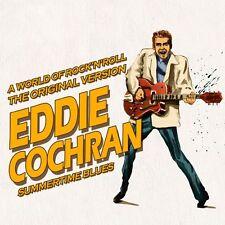 CD A World of rock'n'roll : Eddie Cochran - Summertime Blues / IMPORT