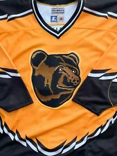 """Boston Bruins """"Pooh Bear"""" Starter Authentic Jersey Rare Vintage 54-R Made In US"""